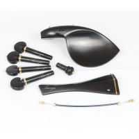 Violin Fittings Set Finest Ebony